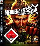 PS3 / Sony Playstation 3 Spiel - Mercenaries 2 World in Flames (mit OVP)