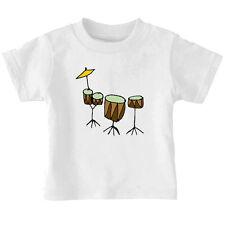 Rocker Rock Drum Set Kits Batteries Toddler Baby Kid T-shirt Tee 6mo Thru 7t