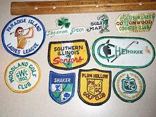 SOUTHERN ILLINOIS SENIORS GOLF CLUB    ONE PATCH AUCTION  BX K 61