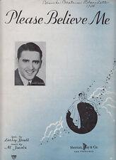 Please Believe Me-1937-Larry Yoell-6  Page-Sheet Music