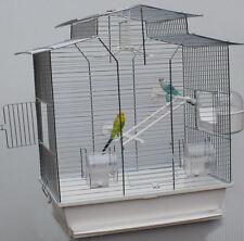 XXL 60cm Vogelkäfig Vogelbauer Wellensittich Kanarien Voliere Vogelhaus Iza ohne