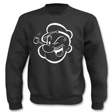 Pullover I Popeye I  Sprüche I Sweatshirt
