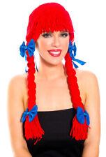 Music legs adult womens raggedy Ann costume wig