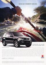 2006 Suzuki Grand Vitara - Kayak - Classic Vintage Advertisement Ad D64