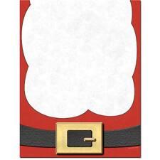 Here Comes Santa Fun Winter Christmas Letterhead - 25 or 100pk