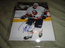 New York Islanders Petteri Nokelainen Signed Autographed 8x10 COA