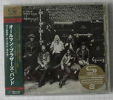 ALLMAN BROTHERS BAND - At Fillmore East JAPAN SHM CD OBI NEU! UICY-90766