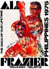 Ali - Frazier - Thrilla In Manila - Philippines - 1975 - Fight Promotion Poster
