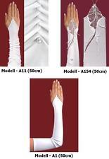 Brauthandschuhe fingerlos  Hochzeit - Braut Handschuhe 50cm (Opera)