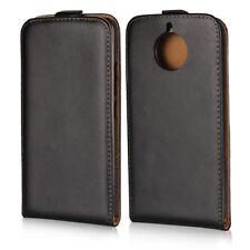 Flip Case Handy-Hülle Spalt-Leder #X25 zu Motorola Moto G5s Tasche Schutz Cover