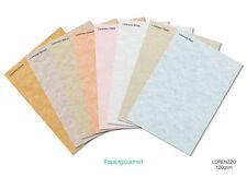 A4 Lorenzo Certificado Papeles - 8 Colores Para Elegir.