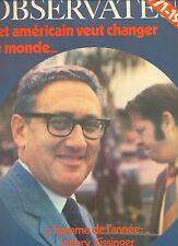 le nouvel observateur -decembre 1971 au 2 janvier 1972