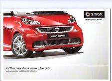 Smart fortwo pulse passion & brabus xclusive voiture brochure décembre 2011 pour 2012