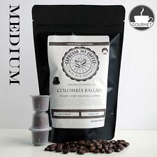 Nespresso capsules pods compatible FRESH HANDMADE Single Origin Coffee COLOMBIA