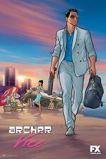 Archer Season 5 Adult Swim Poster Print T569  A4 A3 A2 A1 A0 