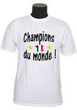 Tee shirt enfant equipe de france 2 étoiles foot champions du monde réf 178