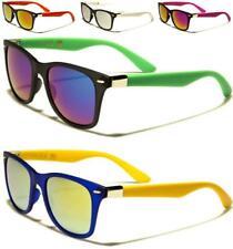 Nuevas Gafas de sol negras con espejo para Hombre Diseñador para mujer Dama Niño Niña Retro UV400