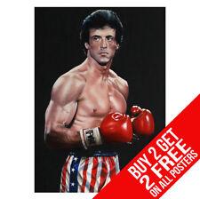 Rocky Bilboa 4 IV cartel impresión de boxeo BB2 A4 A3 Tamaño-Compre 2 lleve 2 Gratis Cualquier