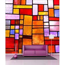 Pegatinas gigante decoración : Ventanas de cristal manchadas 1231