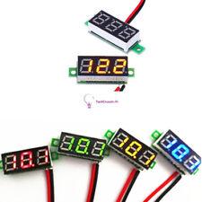 0.28 inch Blue/Green/Red LCD Mini Digital DC Voltmeter Gauge Voltage Detector
