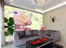 3D Délicat Jasmin 1 Photo Papier Peint en Autocollant Murale Plafond Chambre Art