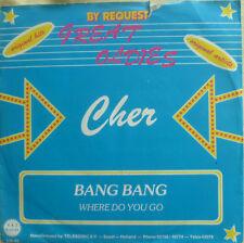 "7"" 60s! Cher: Bang nastro + where do you go/MINT - \"
