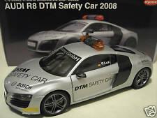 AUDI R8 DTM SAFETY CAR 2008 argent silver 1/18 KYOSHO 09214DTM voiture miniature