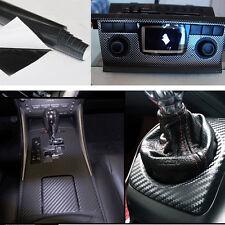 Selbstklebend Carbon Folie Auto KFZ LKW Klebe Folie Glanz Matt Schwarz 3D 4D AT