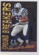 2000 Bowman Chrome Ground Breakers #GB8 Abdul-Karim Al-Jabbar Indianapolis Colts