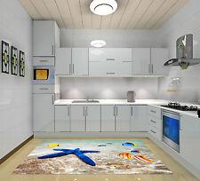 3D Mer Étoile Poissons 21 Décor Mural Murale De Mur De Cuisine AJ WALLPAPER FR