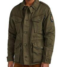 Ralph Lauren Purple Label 867th Airborne US RL 5th Division Field Jacket S L Men