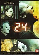 24 SEIZOEN 6 / 24 HEURES CHRONO SAISON 6 - NL/FR -7 DVD