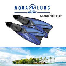 AQUA LUNG SPORT MOTION SNORKEL FINS GRAND PRIX PLUS BLUE/BLACK ALL SIZES 28-47