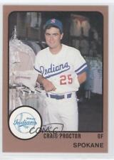 1988 ProCards Minor League #1944 Craig Proctor Spokane Indians Baseball Card