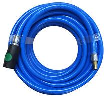 Druckluftschlauch flexibel, Gewebe, PVC 6 9 13mm Sicherheitskupplung Stecknippel