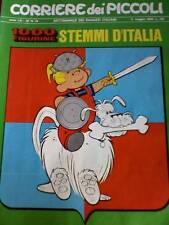 Corriere dei Piccoli 19 1969  con inserto figurine