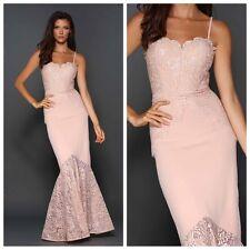Designer Elle Zeitoune Lace corset Evening Ball Gown Long Prom Bridesmaid Dress