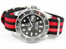La OTAN ® Correa De Reloj Para Reloj Omega Speedmaster Seamaster Deville Reino Unido