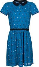 Vive Maria BREEZE OF SAIL Vintage Sailor DRESS / Kleid - Blau Rockabilly