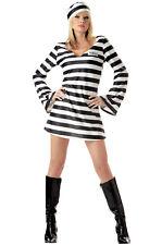 Brand New Sexy Women Jail Prison Convict Chick Adult Halloween Costume