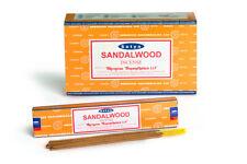 Palos de incienso SATYA Sándalo 15 gramos pack - 0170
