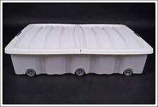 Unterbettkommode in weiß - 40 oder 60 L - Unterbettbox Spielzeugkiste Rollbox