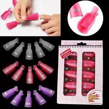 Arte en Uñas Soak usable plástico Soak Off Esmalte Gel Cap Clip Remover Herramienta