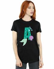 Disney Mujer Alphabet A Is For Ariel Camiseta Del Novio Fit