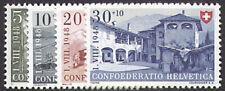 Schweiz Nr. 508-511 postfrisch ** MNH / gestempelt Pro Patria 1948
