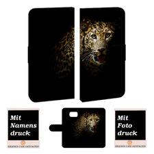 Samsung Galaxy S6 Personalisierte Handy Hülle mit Leopard Bild Text Druck