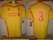Liverpool GERRARD COUTINHO Warrior BNWT XL Football Soccer Shirt Jersey New Away