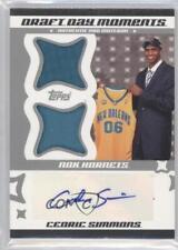 2006-07 Topps Big Game DDMBHA-CS Cedric Simmons Auto Autographed Basketball Card