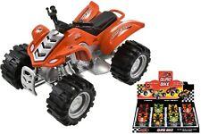 Street Machines Quad Bike DieCast Metal & Plastic Parts Kids Toy Friction Power