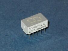 HP HDSP 7501 LED DISPLAY (RED) 7 SEGMENT  QTY=1